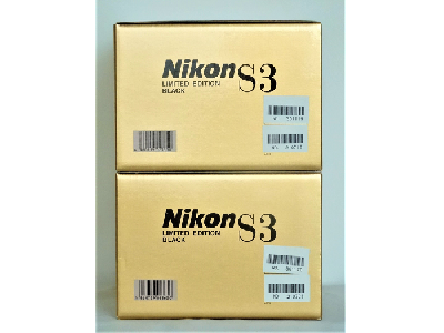 Nikon S3 Limited Black 2set