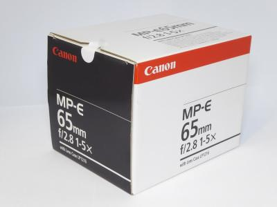 Canon MP-E 1:2.8 f=65mm 1-5×